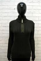 Maglione Donna Armani Jeans Taglia 44 Maglia Pullover Lana Vergine Sweater Woman