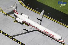 GEMINI JETS TWA MCDONNELL DOUGLAS MD-82 1:200 N903TW G2TWA456 RED STRIPE LIVERY