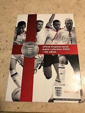Sainsbury's 2004 England Squad  24 Coin set
