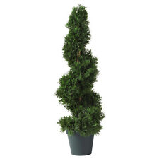 2' Cedar Spiral Silk Tree Artificial High Quality Fake Silk Plant In/Outdoor5160