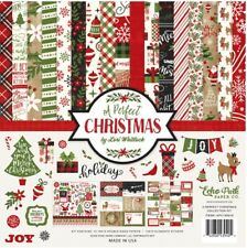 Echo Park, Carte Bella Collection Kits - A Perfect Christmas! New, Ready to ship