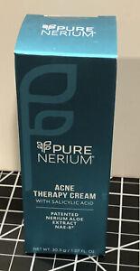PURE Nerium Daily Acne Therapy Cream W/ Salicylic Acid & Aloe Extract  NIB  1FL