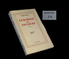 BEDEL (Maurice) - Le Mariage des couleurs. EO. 1/135.