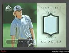 2004 SP Signature #47 Hunter Mahan Shirt Rookie Shirt Relic RC