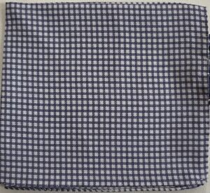 NWOT Authentic TED BAKER Italy 100% LINEN Pocket Square Handkerchief