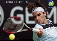 POSTER TENNIS ROGER FEDERER WIMBLEDON OPEN USA BIG #1