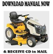 Cub Cadet GTX 2000 series Riding Mower Service Repair Manual on CD (2011-14)