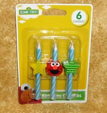 Elmo,Sesame Street Icon Birthday Candles, DecoPac,Multi-color,Cake Decoration