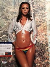 Leah Remini Signed 11x14 King of Queens Photo AUTO Autograph PSA/DNA COA