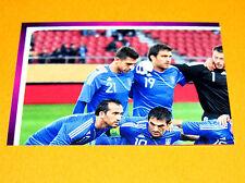 80 EQUIPE TEAM HELLAS GRECE PART 1 FOOTBALL PANINI UEFA EURO 2012