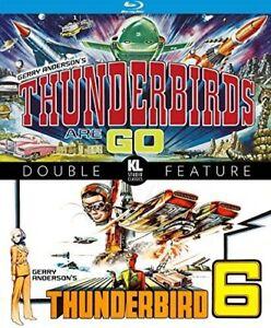 Thunderbird 6 / Thunderbirds Are Go (Blu-ray, 1966) NEW & SEALED Gerry Anderson
