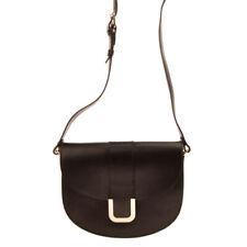 RRP €670 A.P.C. RUE MADAME PARIS Leather Crossbody Bag Magnetic Flap Closure
