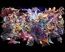 League of Legends LOL 27 Poster Art Print Gamers Wall Decoration 20x16 Inches
