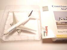 Boeing b777-200 Continantal/n77006, Herpa Wings #560429 in 1:400 Boxed