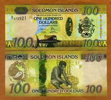 Solomon Islands, $100, ND (2015), P-36 Hybrid Polymer, A/7,New Sig. (2019) UNC