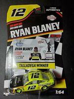 Ryan Blaney 2021 Wave RW2 Race Win Lionel NASCAR 1/64 Scale Diecast Car