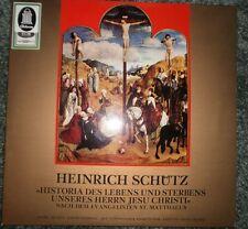Heinrich Schutz  Matthaus Matthew Passion Odeon SME 91638  Thamm