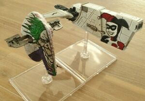 X-Wing Miniatures Custom Painted Firespray and Hounds Tooth - Harley & The Joker