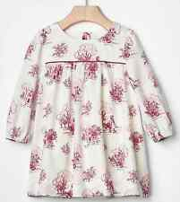 BABY GAP GIRL LONG SLEEVE FOREST DRESS NWT 12-18M N12