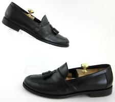 Salvatore Ferragamo Lavorazione Originale Tassel Dress Loafers Black Sz 11D $700