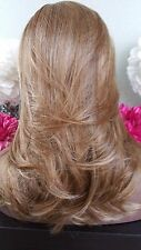 Beautiful Blonde Mix Lace Front Wig Soft Long Layers Feathered