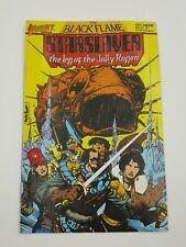 Comic Book First Comics Black Flame Starslayer Jolly Rodger NO.23