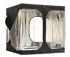 Portable Grow Tent – Thick Foil Silver Mylar Hydroponic Dark Room 2m x 2m x 2m