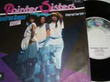 "7"" - Pointer Sisters Neutron Dance - Promo 1984 Beverly Hills Cop # 0886"