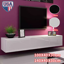 Floating TV Stand Wall Mounted Media Console Entertainment Center 2 Shelves