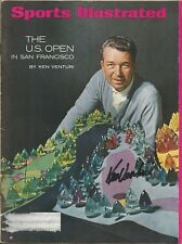 GOLF LEGEND KEN VENTURI SIGNED 1966 SPORT MAGAZINE 1964 U.S. OPEN CHAMPION