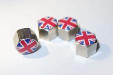 4 Stück Union Jack 3D Ventilkappen 400500, passend für alle Modelle