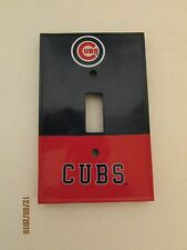 Chicago Cub, Light Switch Cover.