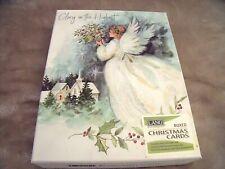 "NEW Box 9 Lang ANGEL OF CHRISTMAS CARDS & Envelopes SUSAN WINGET 5 3/8"" X 6 7/8"""
