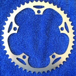 """*NEW 1/8"""" TRACK 48T ALLOY 135mm BCD CHAINRING FOR 5 BOLT SINGLE CHAINWHEEL*"""