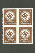 Mint stamp block / PF03  / Nazi Swastika / 1942 Third Reich Issue / MNH Block