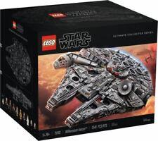 LEGO Raumschiffe als Millenium Falcon Karton