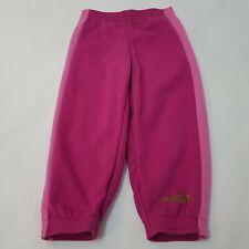 Puma Girl's Trousers Bottom Sportswear Pink 24/30