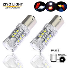 2Bulbs CREE 80W White LED Tail Reverse Lights 1156 P21W BMW 3 Series E30 E36 E46