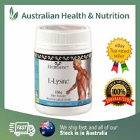 HEALTHWISE L-LYSINE 150GM PHARMACEUTICAL GRADE + FREE SAME DAY SHIPPING