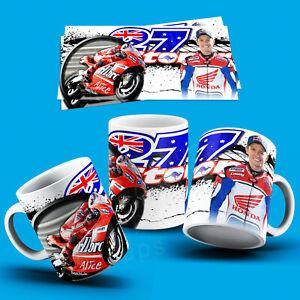 CASEY STONER - MOTO GP  COFFEE & TEA 11oz MUG - PERFECT GIFT BORTHDAY