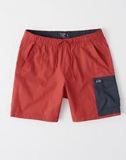 Abercrombie Nylon-Blend Pull-On Shorts