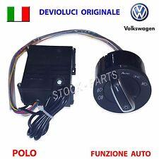 Devioluci cromato + SENSORE  VW POLO GOLF 4 BEETLE SHARAN AUDI deviatore luci