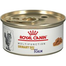 Royal Canin Feline Cat Food Urinary SO + CALM Thin Slices in Gravy 3oz (24 cans)