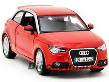 BbURAGO 1:24 AUDI A1 NEW DIECAST MODEL CAR RED