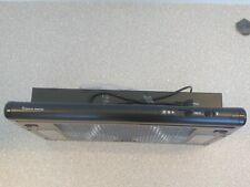 NEW LEEMAC Fineline Rangehood Twin motor Black 60cm wide