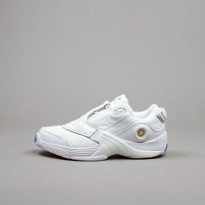 Reebok Classics Answer V 5 Low Allen Iverson Triple White Basketball Men EF7602