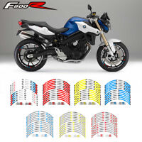 "MOTORCYCLE RIM ""17 STRIPES WHEEL DECALS STICKERS FOR BMW F800R F 800R"
