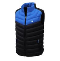 Under Armour Sport Men Casual Winter Standing Collar Vest Jackets Coat Waistcoat