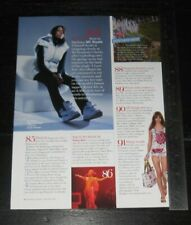 MC Shystie | Chanell Scott ONE (1) FULL PAGE magazine CELEBRITY CLIPPING photo