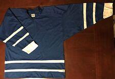 Nhl Replica lightweight practice hockey jersey - Toronto Away